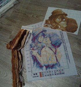 Новый набор для вышивания крестиком