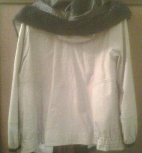 куртка кожа,женская,48-50