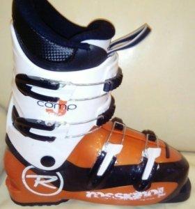 Ботинки горнолыжные. Размер 38,5