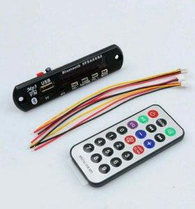 Встраиваемый Bluetooth mp3 USB microSD модуль