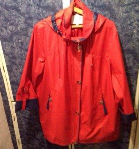 Куртка ветровка, размер 66