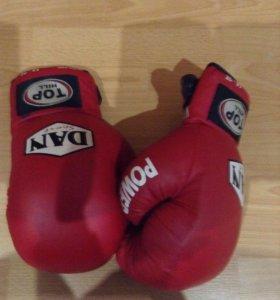 Боксёрские перчатки 14-oz(не кожа)