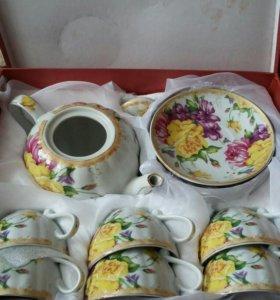 Сервиз чайный,новый