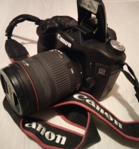Canon 50d+ обьектив