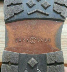 Ботиночки фирма zara baby