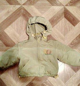 Куртка, жилетка для мальчика 80-86р