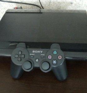 PS3 500гб + ГТА 5 и 21 игра