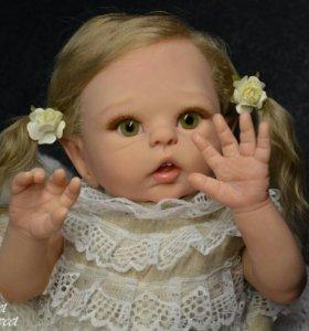 Кукла реборн из молда Луна