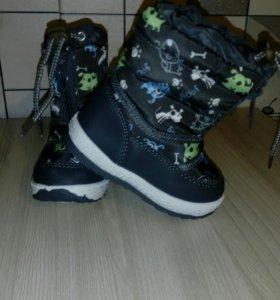 Зимние ботиночки-дутики LIBANG