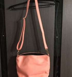 Новая кожаная сумка 3 в 1