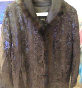 Куртка натуральная замшевая р. 52-54