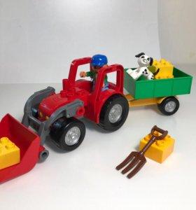 Лего Дупло Трактор