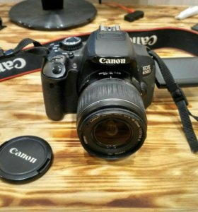 Canon 650d + Canon zoom lens EF-S 18-55mm 1:3.5-5