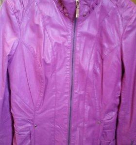 Новая Кожаная куртка 46-48