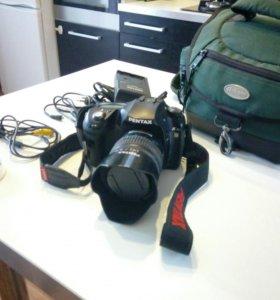 Pentax k10d зеркальный фотоаппарат