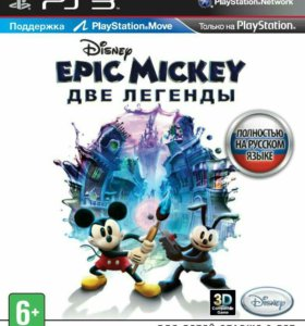 Epic Mickey 2: The Power of Two PS3 (обмен)