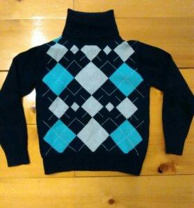 Тёплый свитер детский