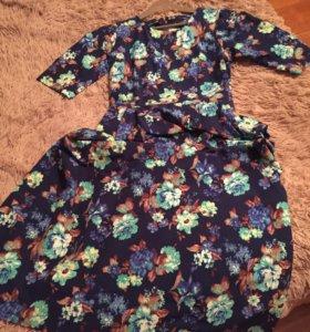Платье длинное, в пол