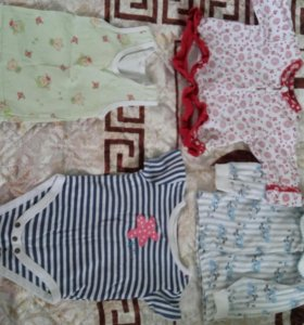 Одежда пакетом для девочки 👧  р-р 63-68