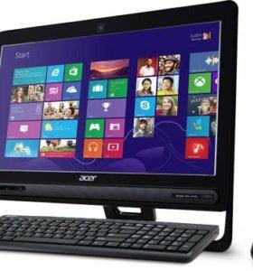 Моноблок Acer aspire zc 605