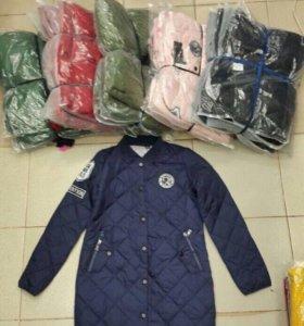 Новая куртка пуховик женская зимняя парка теплая