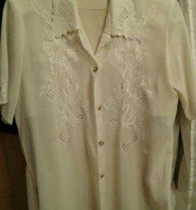 Блузка рубашка
