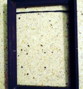 Рамка деревянная 11.5*16.5см