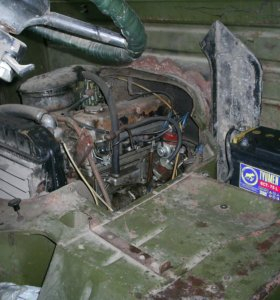 двигатель на уаз 330301