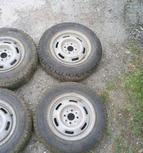 Шины 175/70 R-13 зимние с дисками rosava БЦ-6