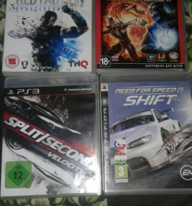 Диски для PS3 цена за 4шт