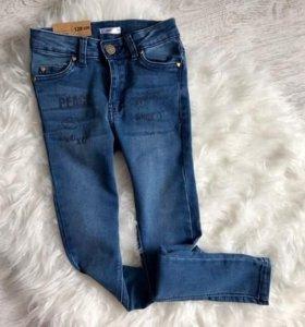 Новые джинсы скинни. Размер 128.