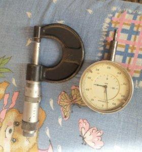 микрометр индикатор штангельциркуль