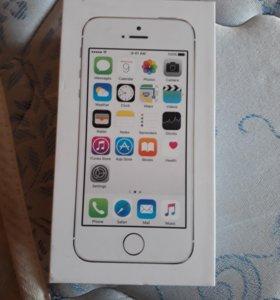 Коробка от айфон 5s