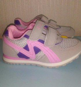 Новые кроссовки М+Д ,по стельке 16,5 см
