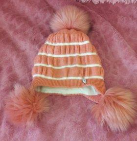 Детская шапка, зимняя