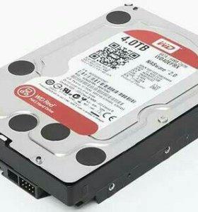 Жёсткий диск WD Red 4tb