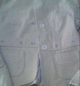 Пиджак женский вельветовый