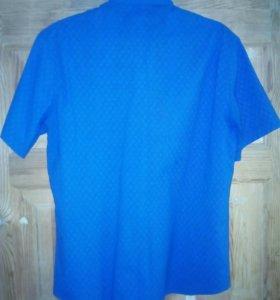 Рубашка мужская,с коротким рукавом.