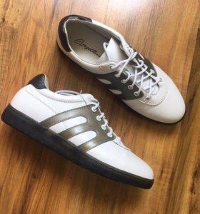 Новые мужские кожаные ботинки Corso Como Италия