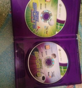 Kinect sports 2 диска