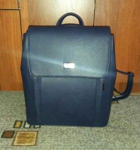 Кожаный рюкзак, АБСОЛЮТНО новый