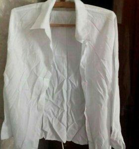 Новая белая рубашка ж. р.48-50
