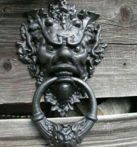 Дверная ручка маскарон