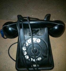Дисковый телефон ретро