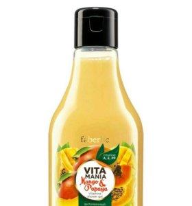 Витаминный гель для душа «Манго & папайя»