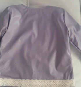 Куртка кожзам для девочки
