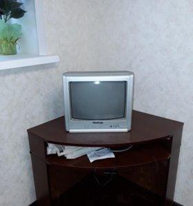Телевизор эленберг Новый в идеальном состояние
