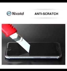 Стекла защитные для iPhone 4,4s,5,5s,SE,6,6s