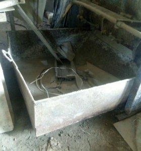Емкость для раствора металл 4мм
