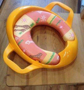 Новая накладка детская на унитаз, сидение